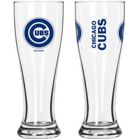MLB Chicago Cubs 2-Pack Gameday Pilsner Set