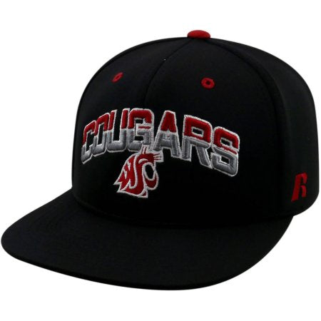 NCAA University of Washington State Cougars Flatbill Baseball Hat \ Cap
