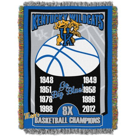 "NCAA 48"" x 60"" Commemorative Series Tapestry Throw, Kentucky"