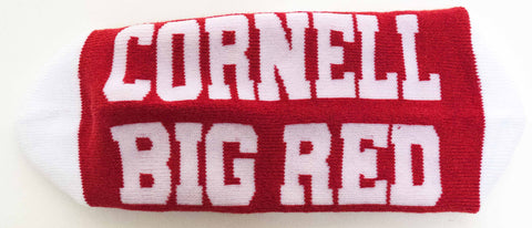 NCAA Cornell Big Red Red Quarter Socks