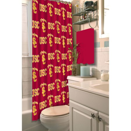 NCAA USC Trojans Shower Curtain