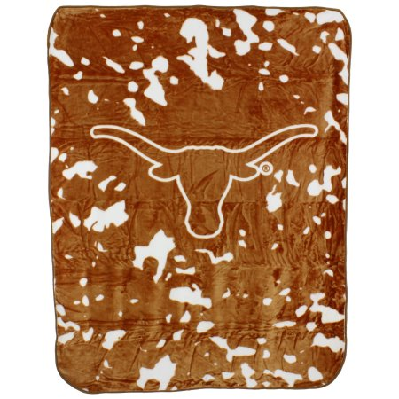 "College Covers Texas Longhorns Throw Blanket/Bedspread, 63"" x 86"""