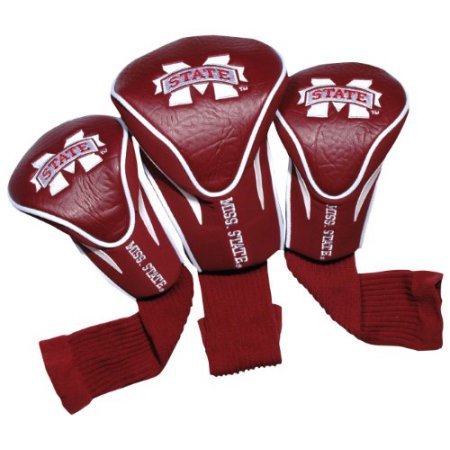 NCAA Mississippi State 3 Pack Contour Head Covers