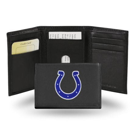 NFL - Men's Indianapolis Colts Embroidered Trifold Wallet