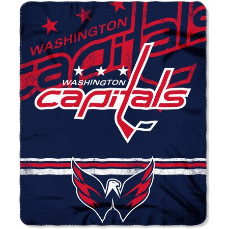 "NHL Washington Capitals 50"" x 60"" Fleece Throw"