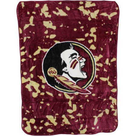 "College Covers Florida State Seminoles Throw Blanket/Bedspread, 63"" x 86"""