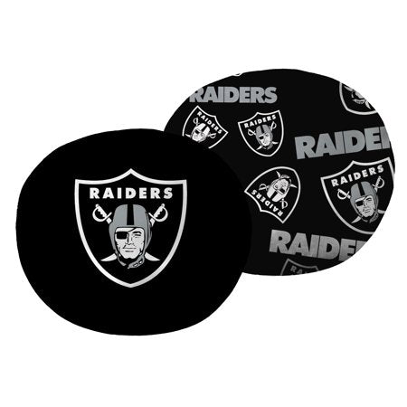 "NFL Oakland Raiders 11"" Cloud Travel Pillow"