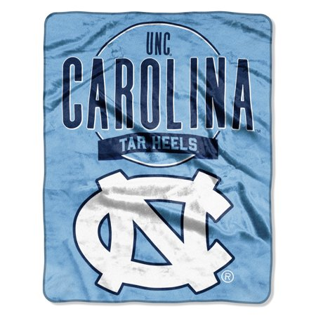 "NCAA North Carolina Tar Heels ""Frame Up"" - Silk Touch Throw Blanket, 55"" x 70"""