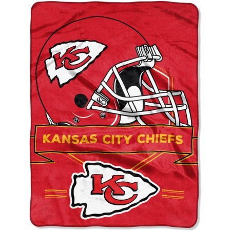 "NFL Kansas City Chiefs ""Prestige"" 60"" x 80"" Raschel Throw"