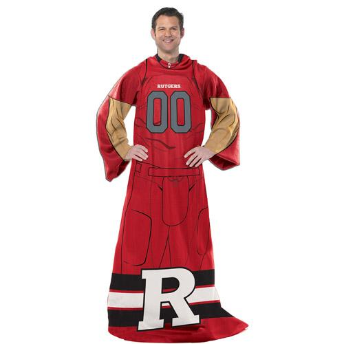 "NCAA Player 48"" x 71"" Comfy Throw, Rutgers"