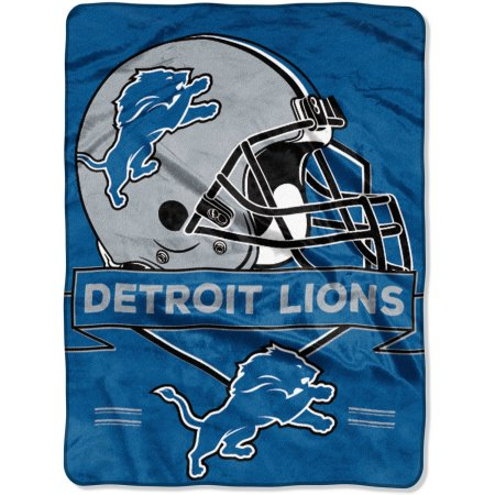 "NFL Detroit Lions ""Prestige"" 60"" x 80"" Raschel Throw"