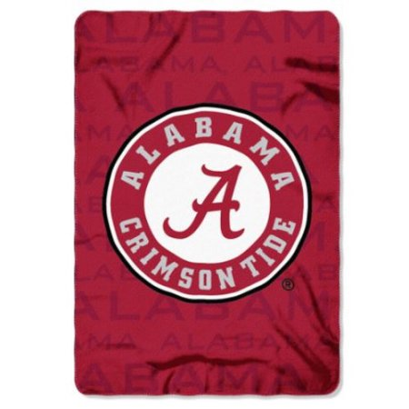 "NCAA Alabama Crimson Tide 40"" x 60"" Fleece Throw"