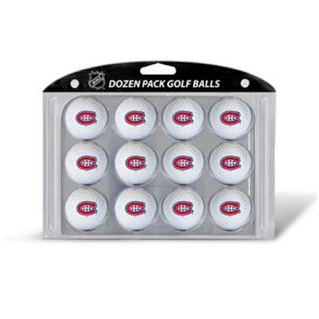 Team Golf NHL Montreal Canadiens Golf Balls, 12 Pack
