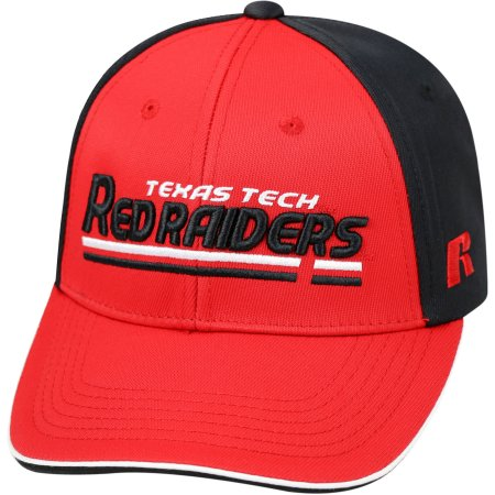NCAA University of Texas Tech Red Raiders Away Two Tone Baseball Hat \ Cap