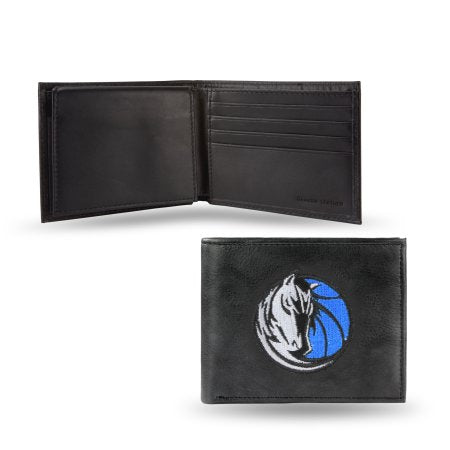 NBA Men's Dallas Mavericks Embroidered Billfold Wallet