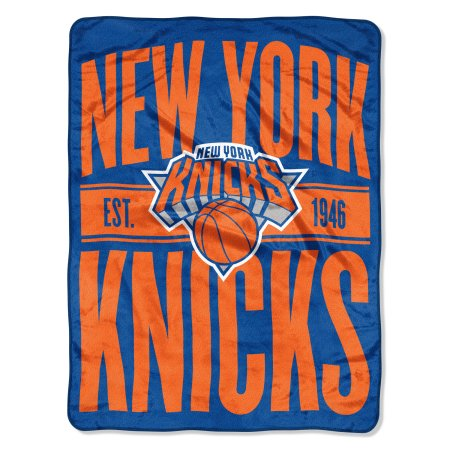 "NBA New York Knicks ""Clear Out"" 46""x 60"" Micro Raschel Throw Blanket"