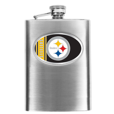 NFL Men's Pittsburgh Steelers Hip Flask