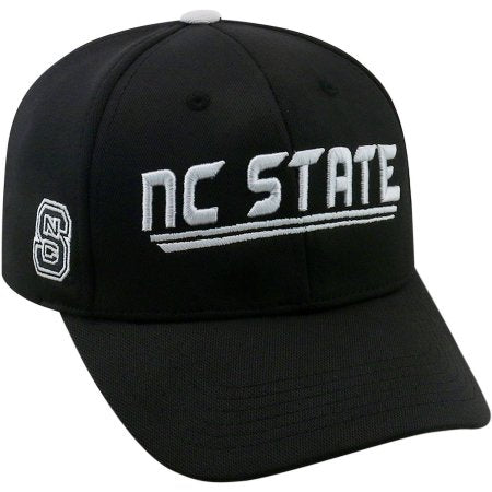 NCAA University of North Carolina State Wolfpack Black Baseball Hat \ Cap