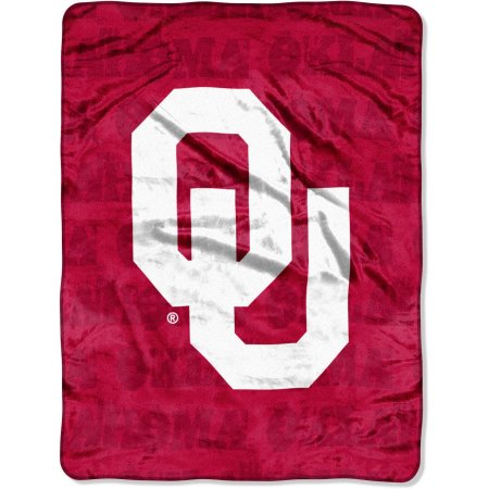"Oklahoma Sooners 46"" x 60"" Micro Raschel Throw Blanket"