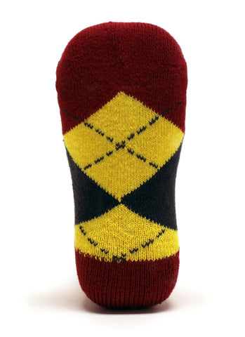NCAA Iowa State Cyclones Baby Argyle No Show Socks