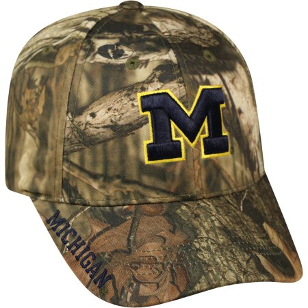 NCAA Men's Michigan Wolverines Mossy Hat \ Cap