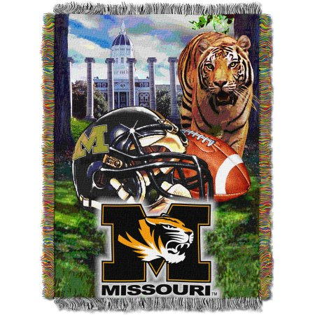 "NCAA 48"" x 60"" Tapestry Throw Home Field Advantage Series- Missouri"
