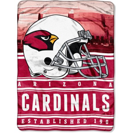 "NFL Arizona Cardinals ""Stacked"" 60"" x 80"" Silk Touch Throw"