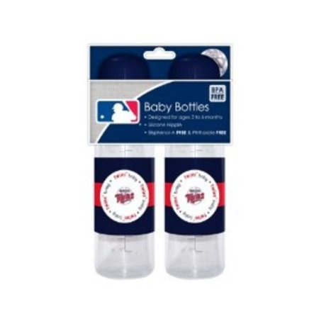 MLB Minnesota Twins Baby Bottle - 2pk