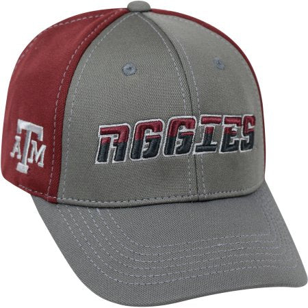 NCAA University of Texas A&M Aggies Grey Two Tone Baseball Hat \ Cap