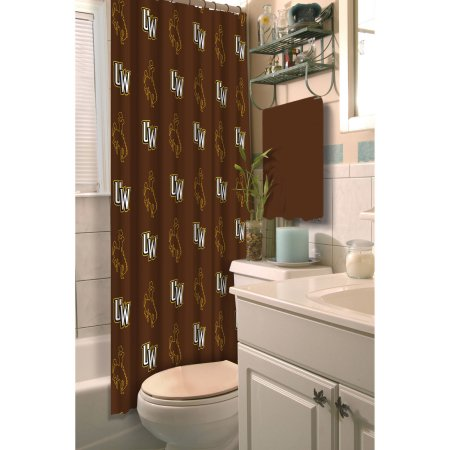 NCAA Wyoming Cowboys Shower Curtain