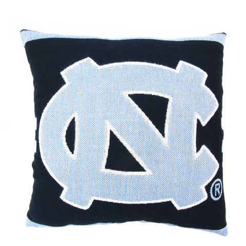 "NCAA North Carolina Tar Heels 20"" Square Decorative Woven Pillow"