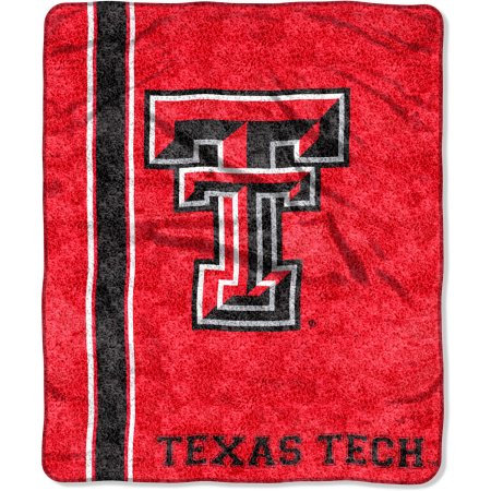 "NCAA Texas Tech Red Raiders ""Jersey"" 50"" x 60"" Sherpa Throw"
