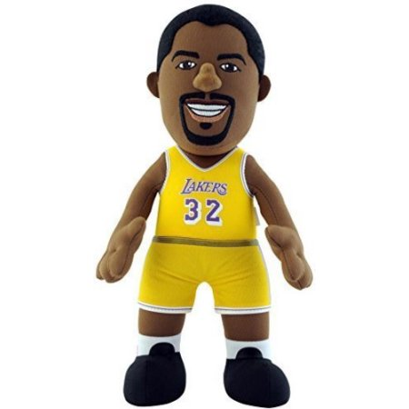 NBA LOS ANGELES LAKERS MAGIC JOHNSON 10 IN PLUSH