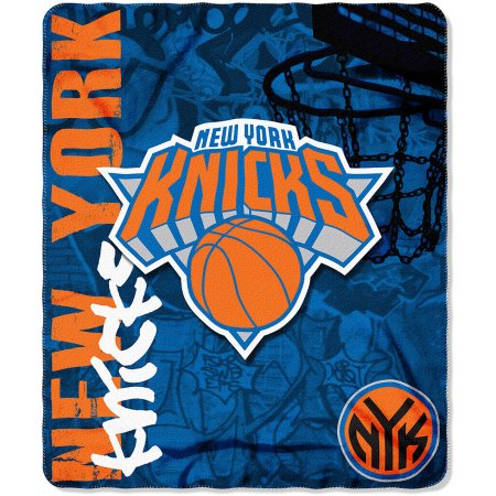 "NBA New York Knicks 50"" x 60"" Fleece Throw Blanket"