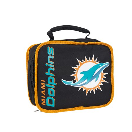 "NFL Miami Dolphins ""Sacked"" 10.5""L x 8.5""H x 4""W Lunchbox Cooler"