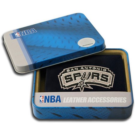 NBA Men's San Antonio Spurs Embroidered Trifold Wallet