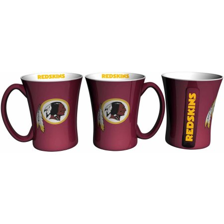 Boelter Brands NFL Set of Two 14 Ounce Victory Mugs, Washington Redskins