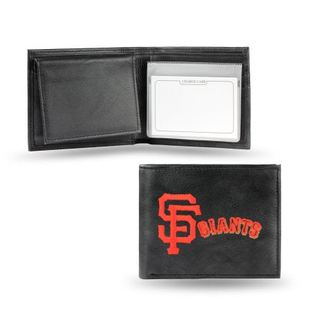 MLB Men's San Francisco Giants Embroidered Billfold Wallet