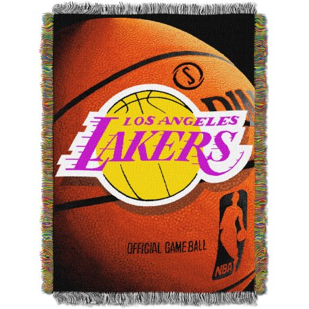 "NBA Los Angeles Lakers 48"" x 60"" Photo Real Series Tapestry Throw Blanket"