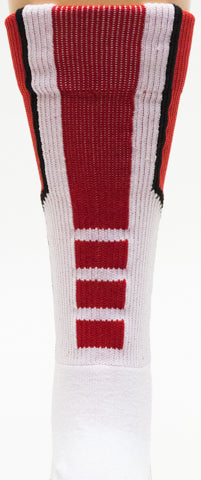 NCAA Alabama Crimson Tide Red Athletic Performance Socks