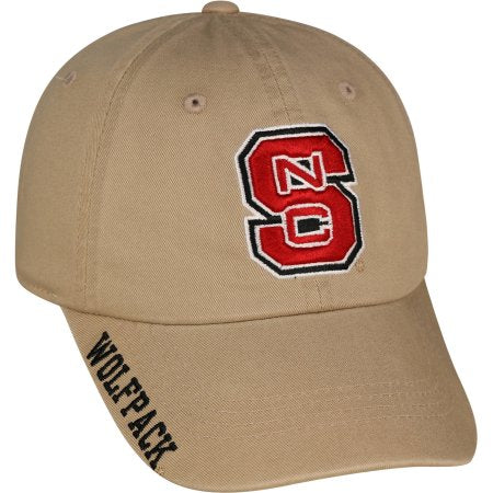 NCAA Men's North Carolina State Wolfpack Khaki Hat \ Cap
