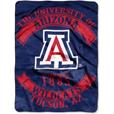 "NCAA Arizona Wildcats ""Rebel"" 60"" x 80"" Raschel Throw"