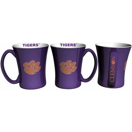 NCAA Clemson Tigers Set of Two 14 Ounce Victory Mugs
