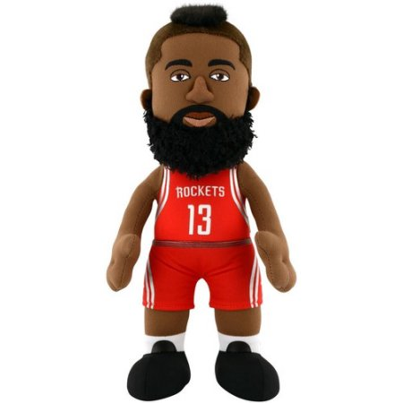 NBA JAMES HARDEN 10 PLUSH FIGURE HOUSTON ROCKETS