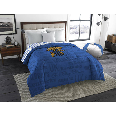 "NCAA Kentucky Wildcats ""Anthem"" Twin/Full Bedding Comforter"