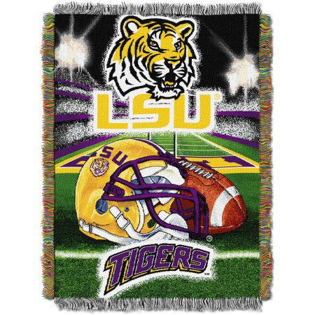 "NCAA 48"" x 60"" Tapestry Throw Home Field Advantage Series- LSU"