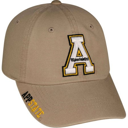 NCAA Men's Appalachian State Mountaineers Khaki Hat \ Cap