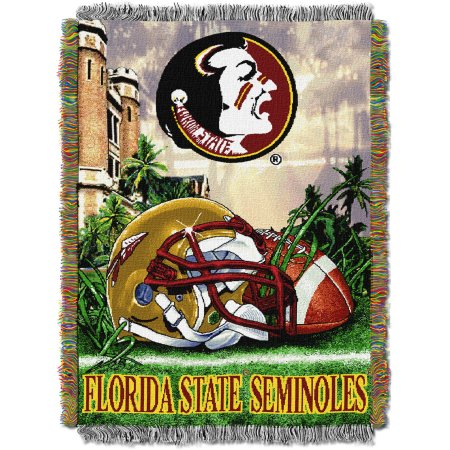 "NCAA 48"" x 60"" Tapestry Throw Home Field Advantage Series- Florida State"