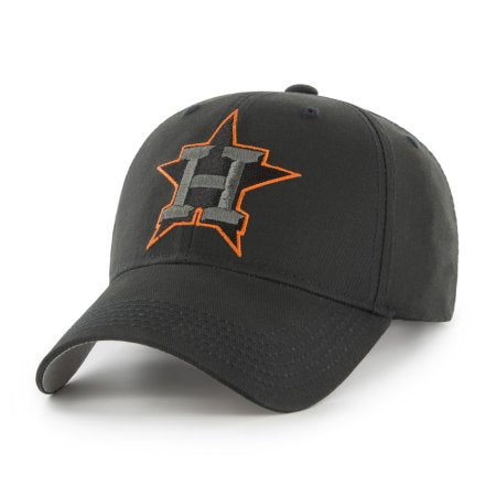 MLB Houston Astros Black Mass Adjustable Cap/Hat by Fan Favorite