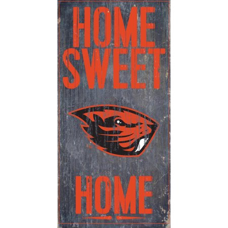 NCAA Oregon State Beavers 6'' x 12'' Home Sweet Home Sign